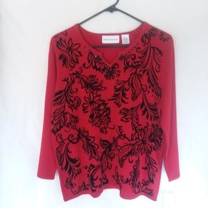 NWT Alfred Dunner sweater